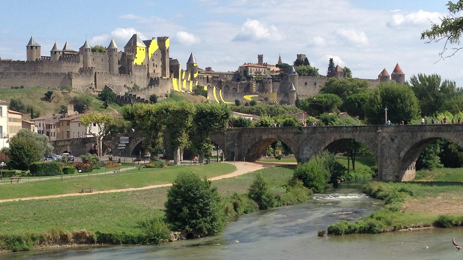 Die Cité von Carcassonne. Foto: Werner Bausem