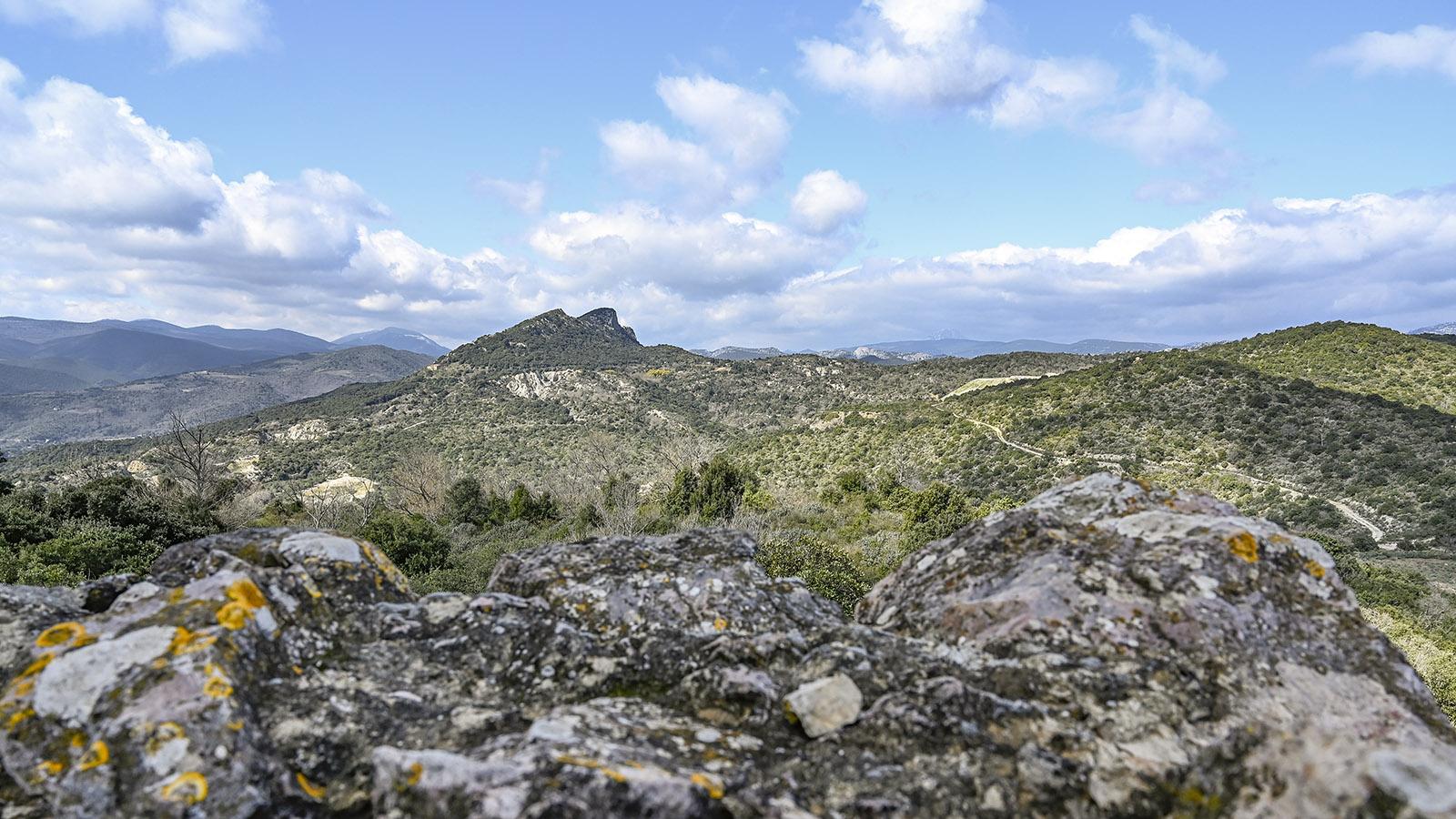 Der Roc de Vergès und die Serre de Vergès. Foto: Hilke Maunder