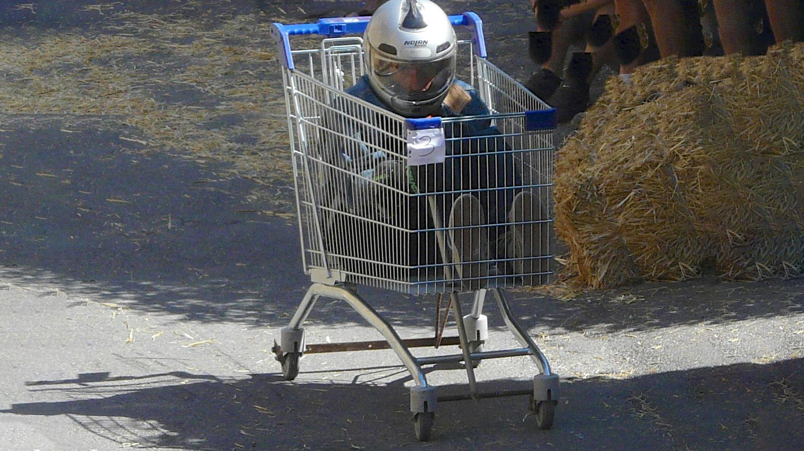 Seifenkisten-Rennen. Foto: Uli Luipold