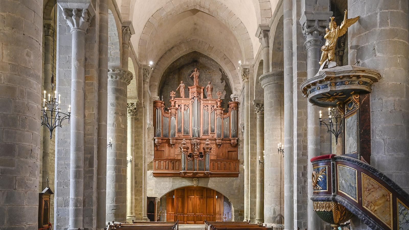 Carcassonne: Église Saint-Nazaire. Foto: Hilke Maunder