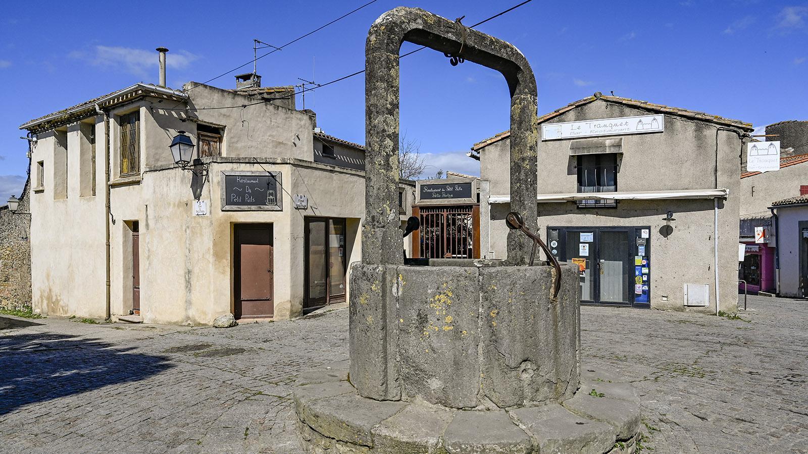 Carcassonne, Cité: Rue du Petit Puits. Foto: Hilke Maunder