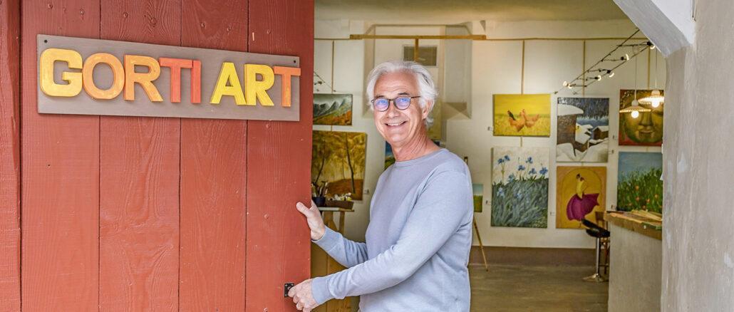 Philippe Roitg nennt sich als Künstler Gorti. Foto: Hilke Maunder