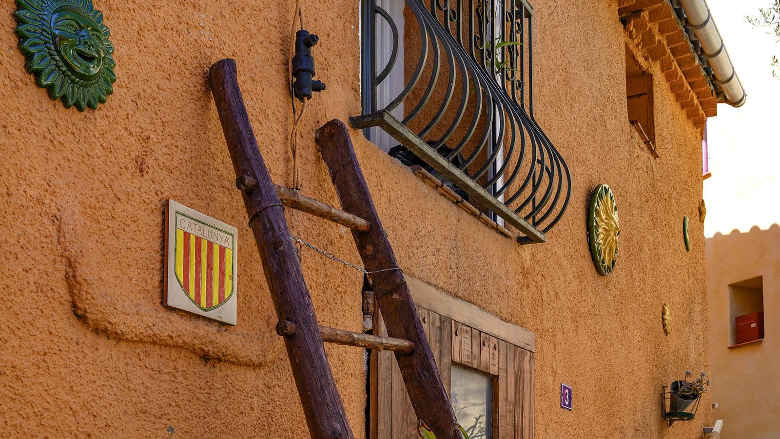 Dieser Bewohner des Fenouillèdes fühlt sich als Katalane - auch wenn Prugnanes bereits im Jahr 1253 französisch wurde. Foto: Hilke Maunder