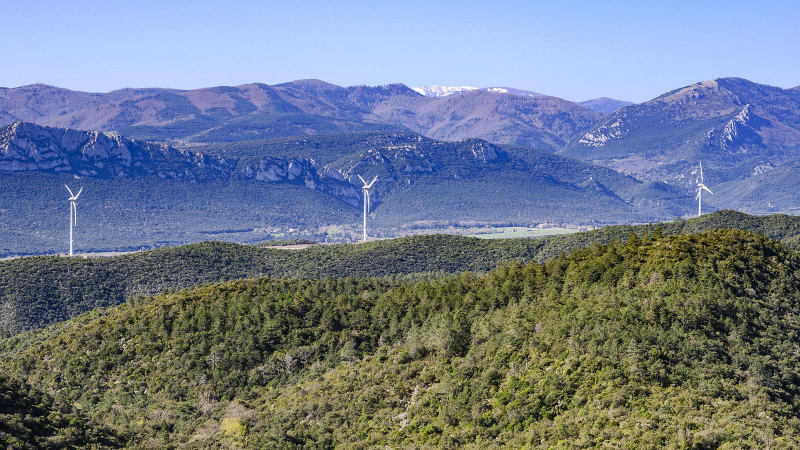 Der Blick über das Tal der Boulzane hin zum Pic des Madrès. Foto: Hilke Maunder