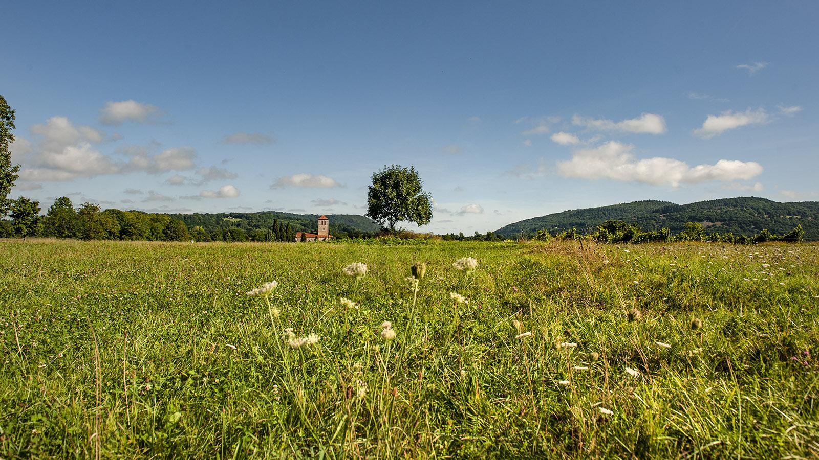 Saint-Just de Valcabrère bei Saint-Bertrand-de-Comminges im Garonne-Tal. Foto: Hilke Maunder