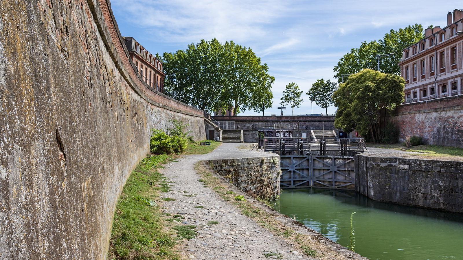 Die Schleuse Écluse Saint-Pierre. Foto: Hilke Maunder
