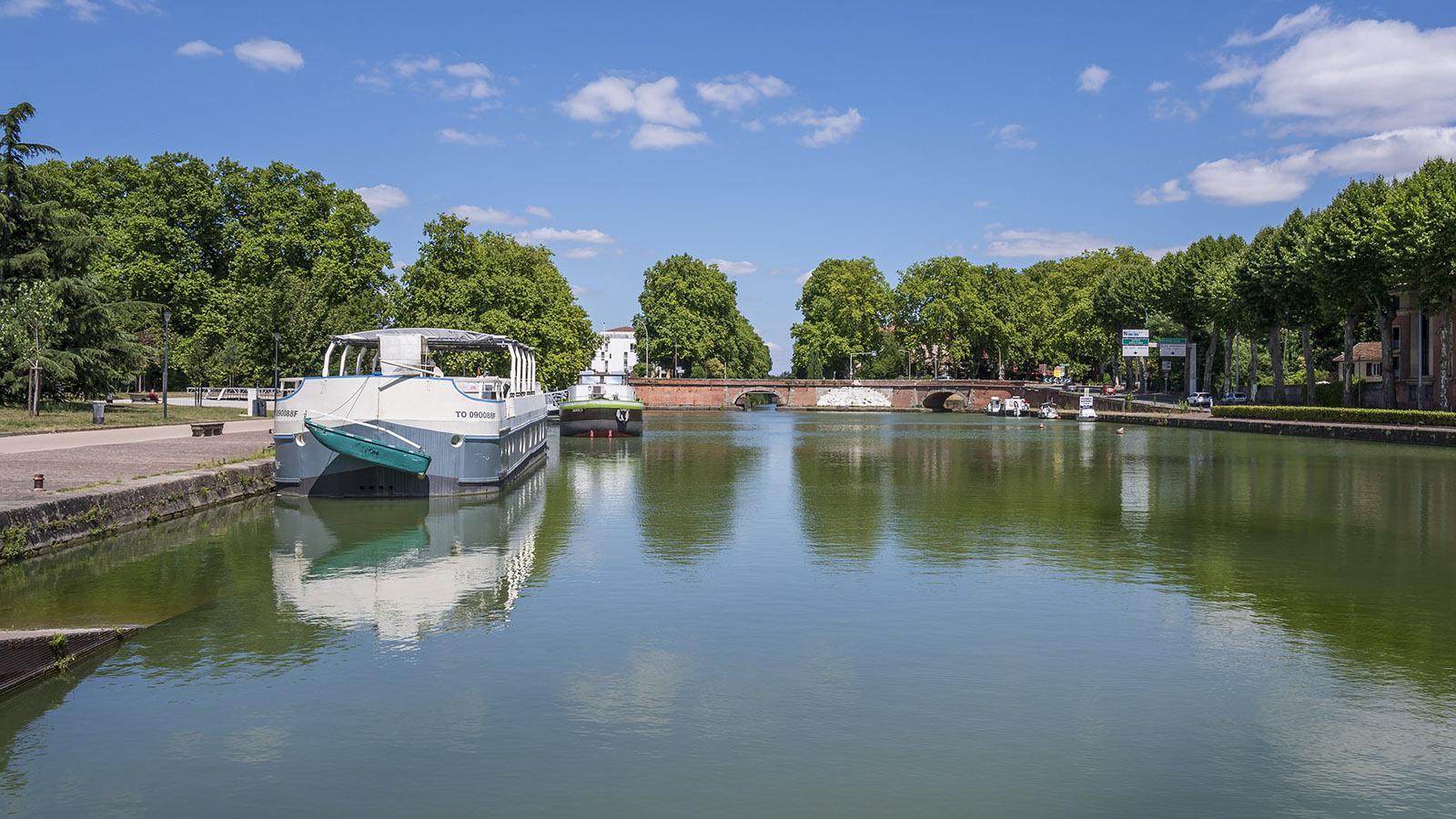 Der Port de l'Emboucure mit seinen Ponts-Jumeaux, Zwillingsbrücken. Foto: Hilke Maunder