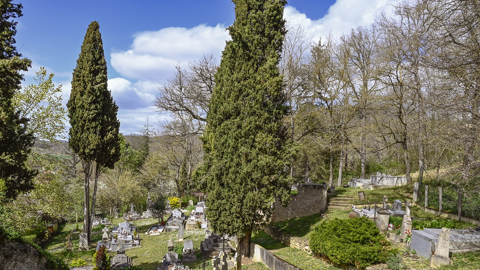 Der Friedhof von Vals. Foto: Hilke Maunder