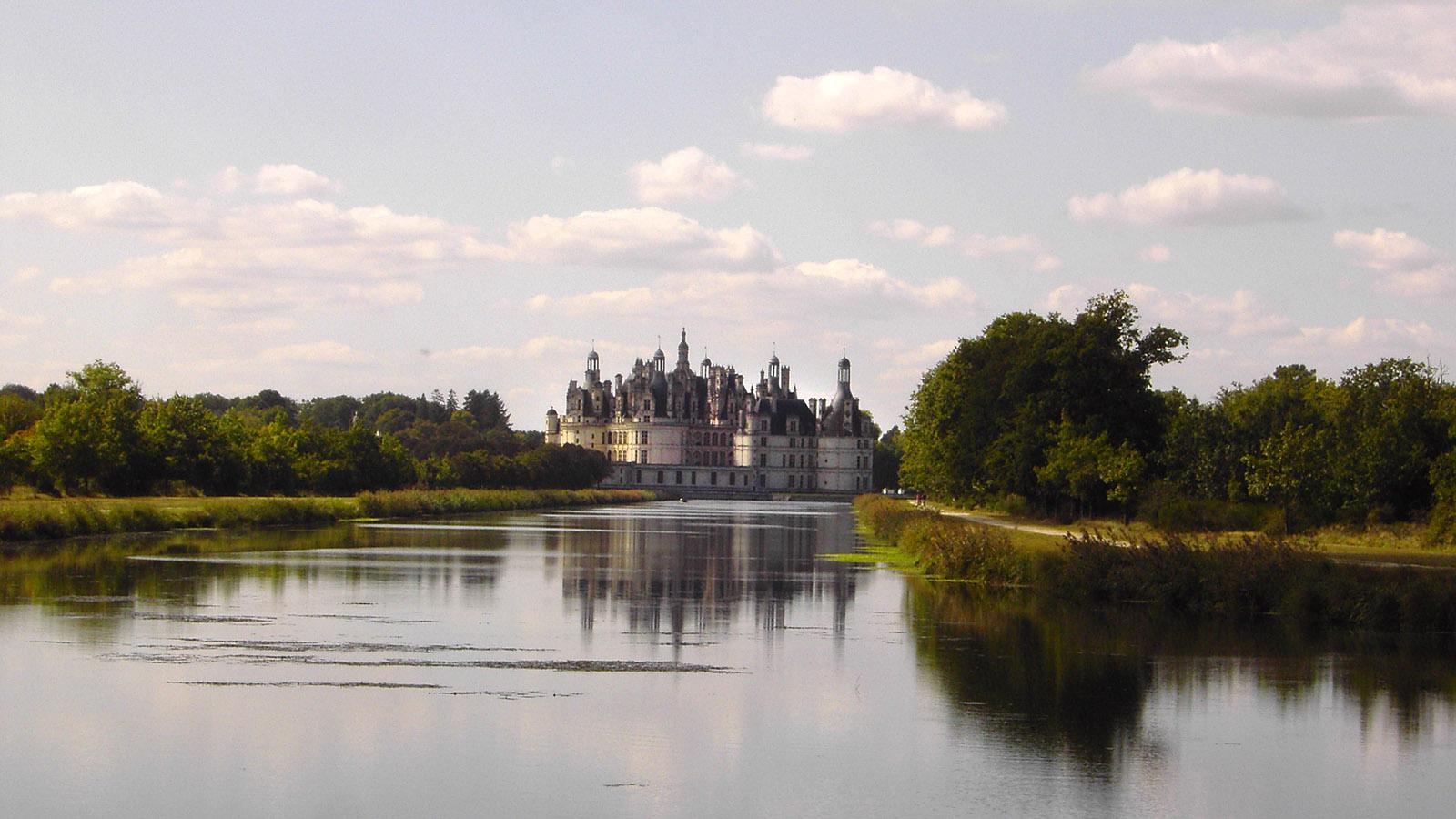 Das Schloss von Chambord. Foto: Huberta Jacobs