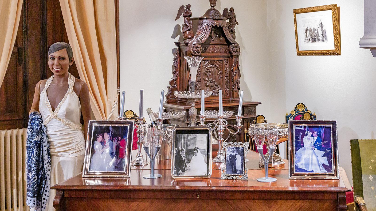 Das Andenken an Josephine Baker ist auf Château les Milandes allgegenwärtig. Foto: Hilke Maunder