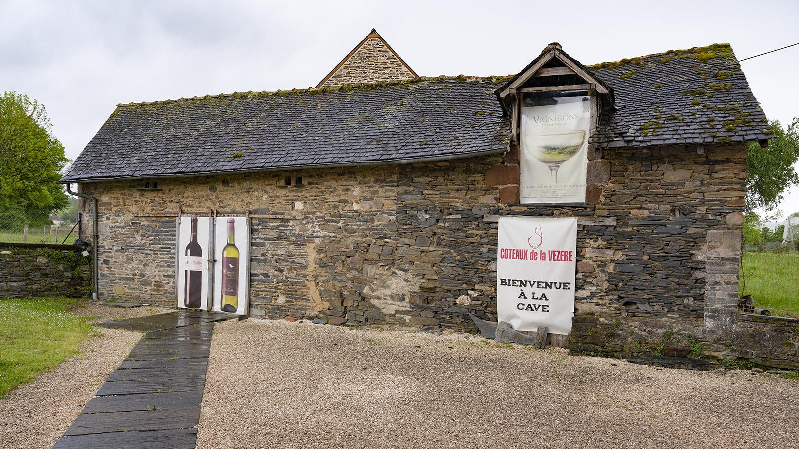 Die Kellerei Coteaux de la Vézère. Foto: Hilke Maunder