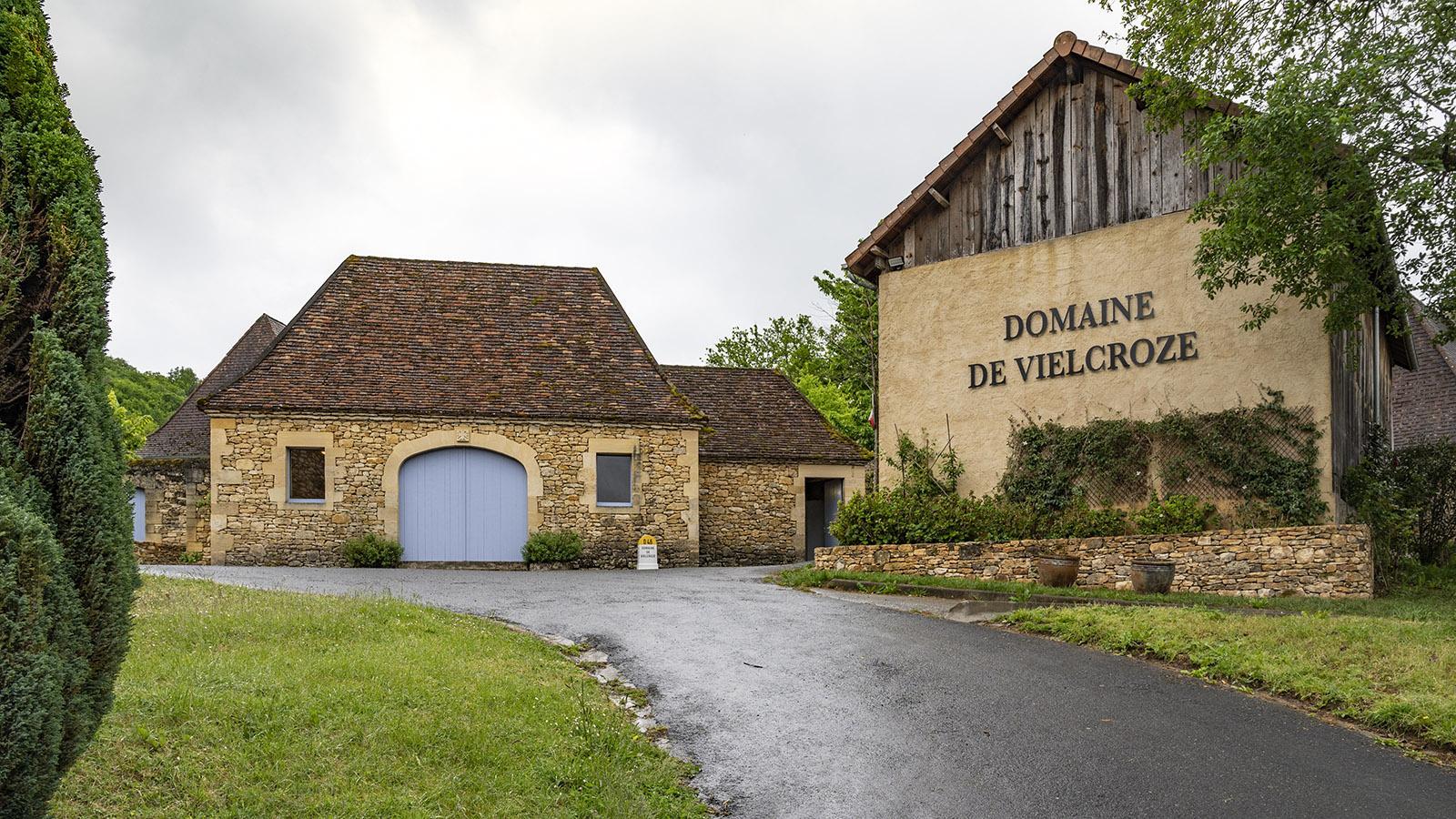 Das arbeitende Nussmuseum Domaine de la Vielcroze bei Sarlat. Foto: Hilke Maunder