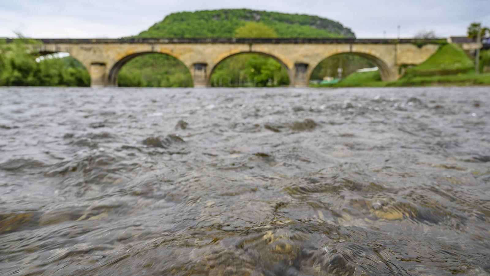 Die Dordogne bei Castenaud. Foto: Hilke Maunder