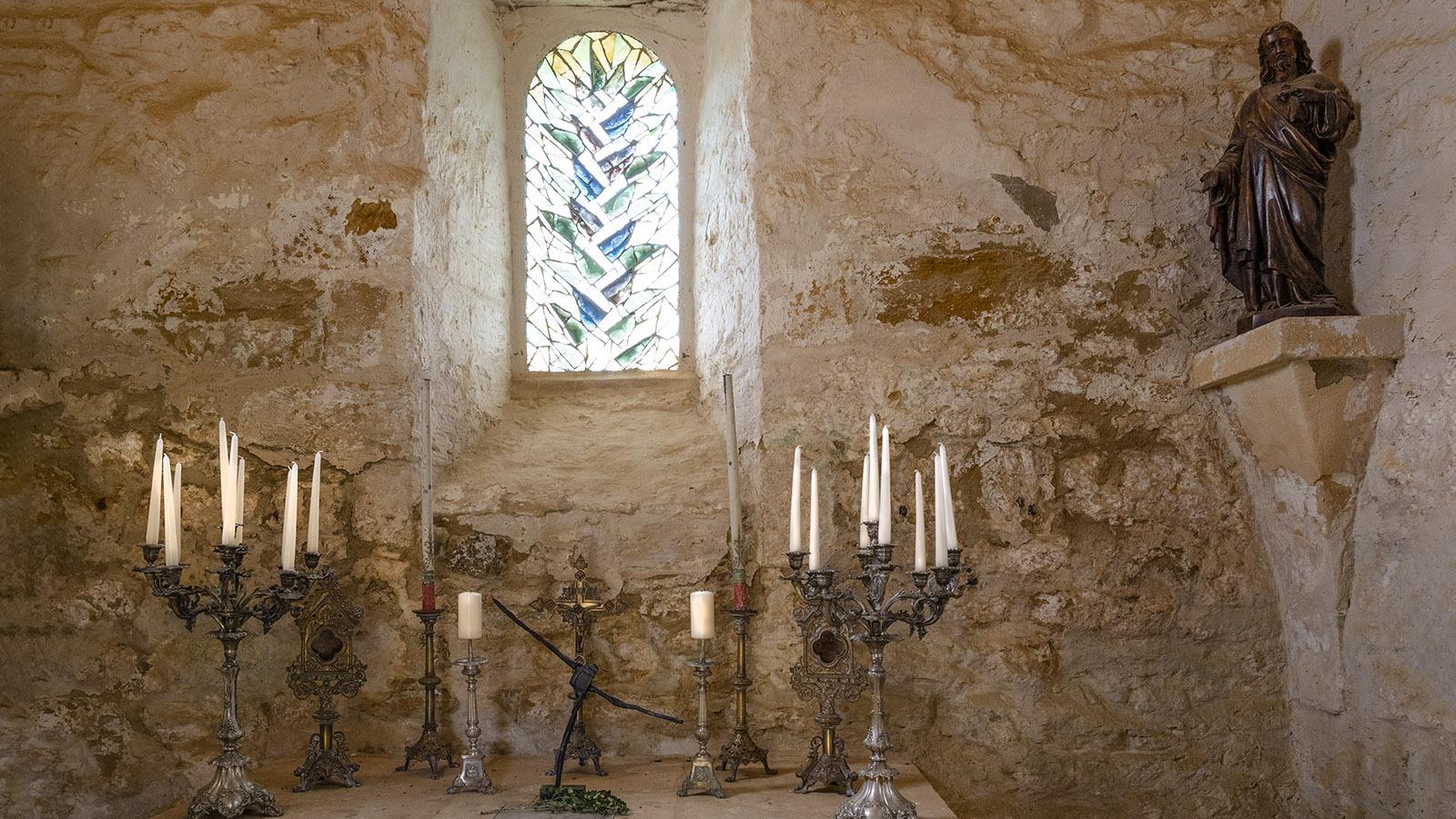 Die Familienkapelle von Eyrignac. Foto: Hilke Maunder