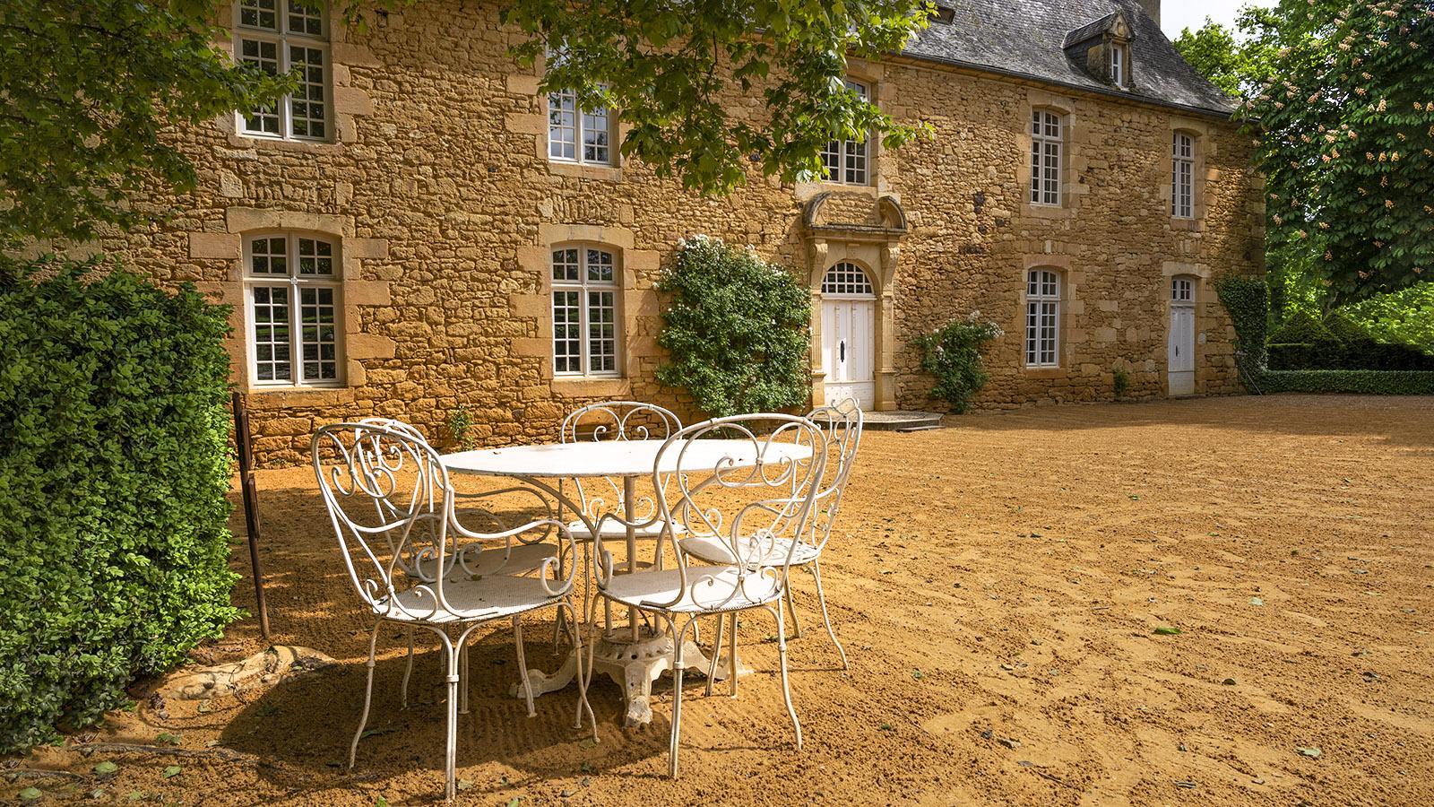 Das Herrenhaus von Eyrignac. Foto: Hilke Maunder
