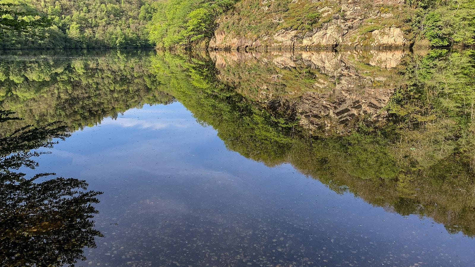 Die Dordogne bei Glény. Foto: Hilke Maunder