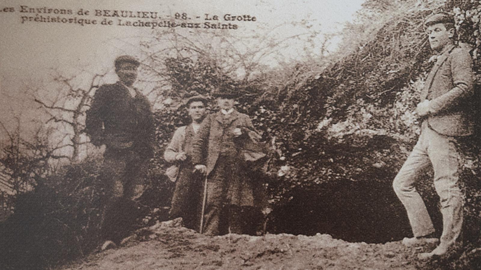 Die Grotte <em>La Bouffia Bonneval</em>.Foto: Archiv, Musee de l'homme de Néandertal