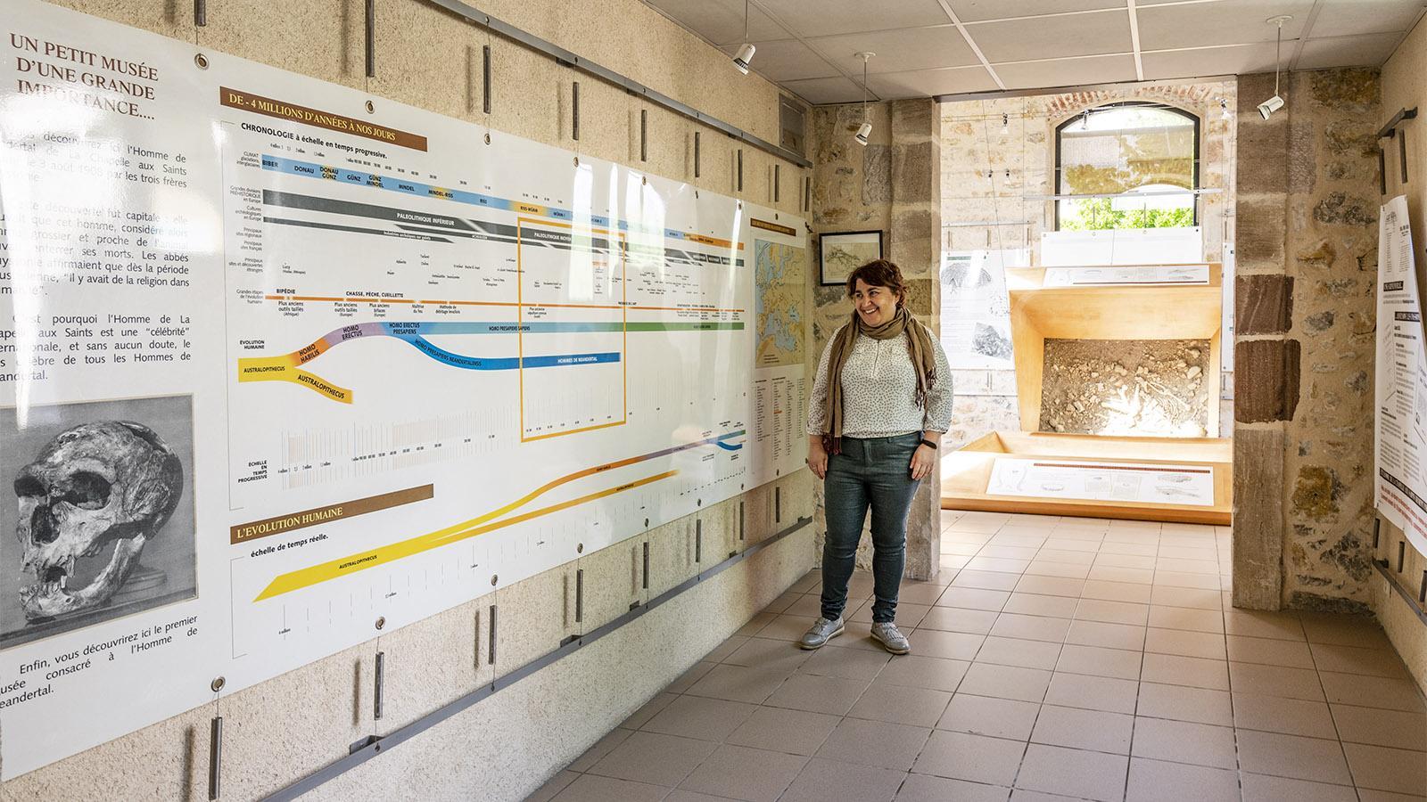 Musée de l'homme de Néandertal. Foto: Hilke Maunder