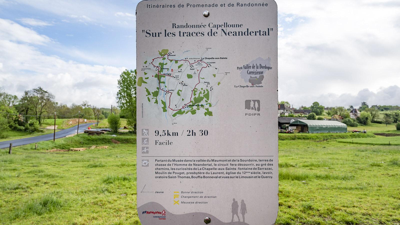 Eine knapp 10 Kilometer lange Wanderung auf den Spuren des Neandertalers beginnt am Museum. Foto: Hilke Maunder