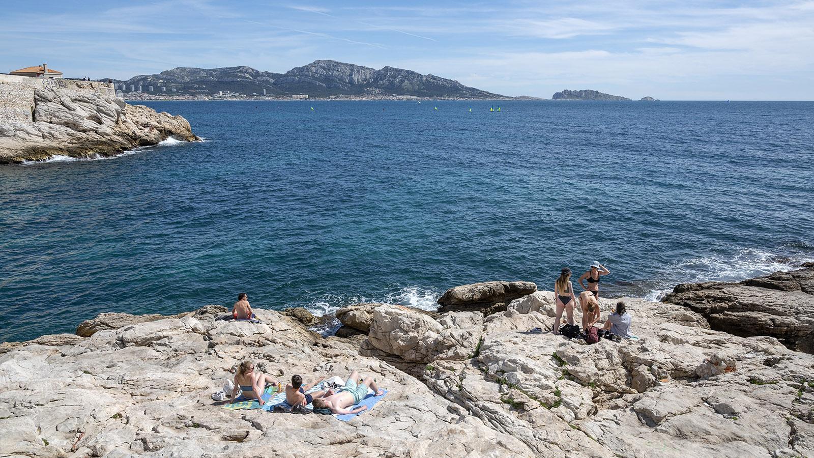 Corniche Président J. F. Kennedy, Marseille. Foto: Hilke Maunder