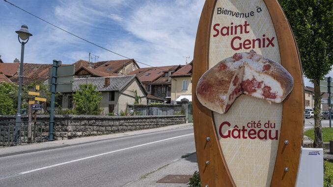 Die Stadt des berühmten Kuchens: Saint-Genix in Saovie. Foto: Hilke Maunder