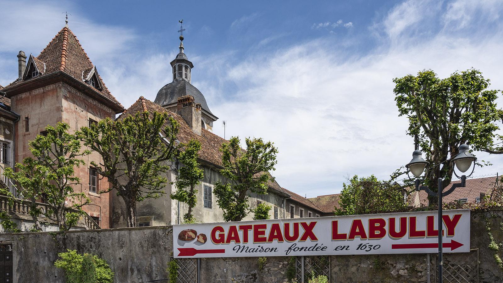 """Labully gilt als """"Erfinder"""" des Gâteau Saint-Genix. Foto: Hilke Maunder"""