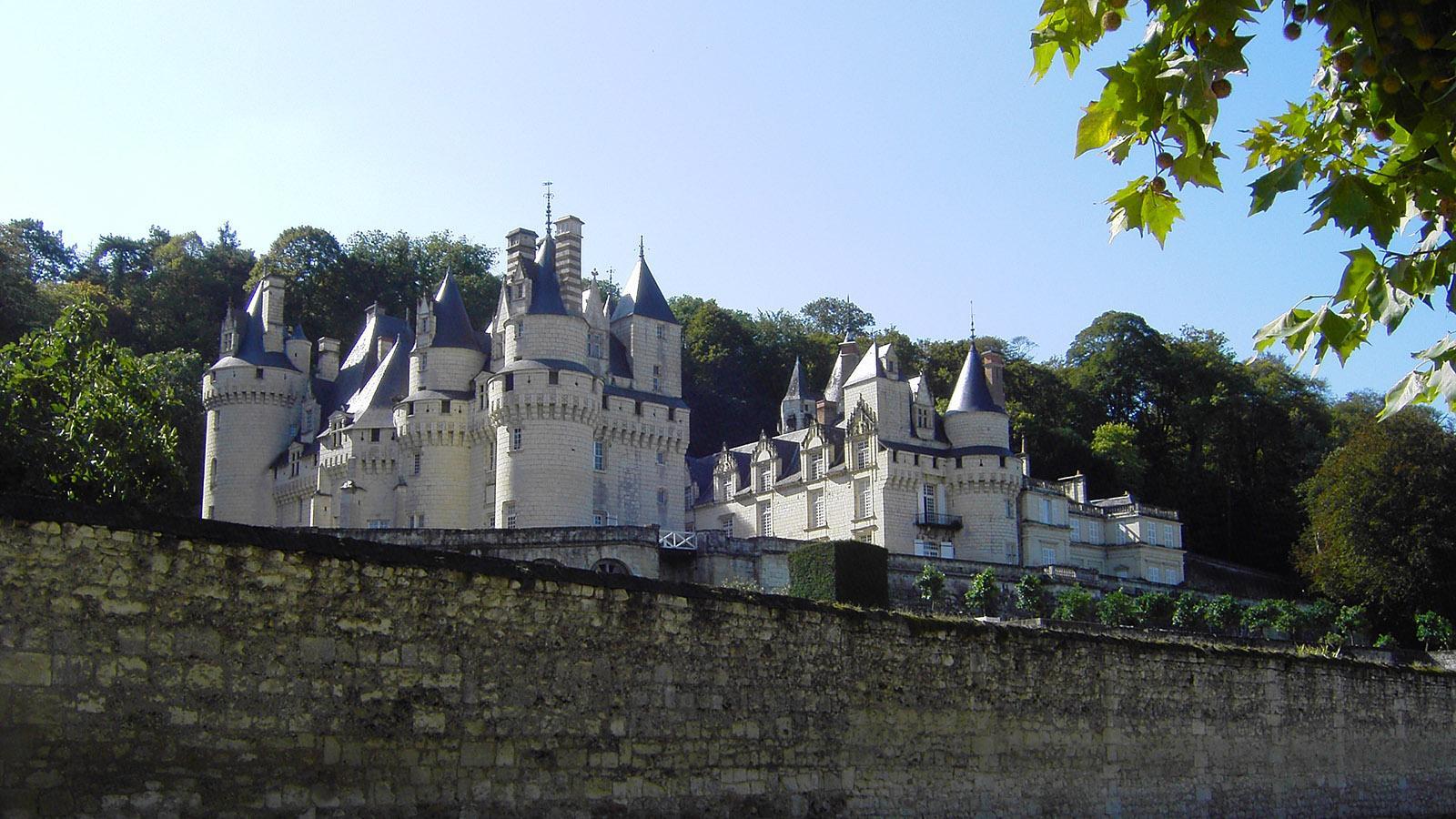 Das Dornröschenschloss von Ussé. Foto: Huberta Jacobs