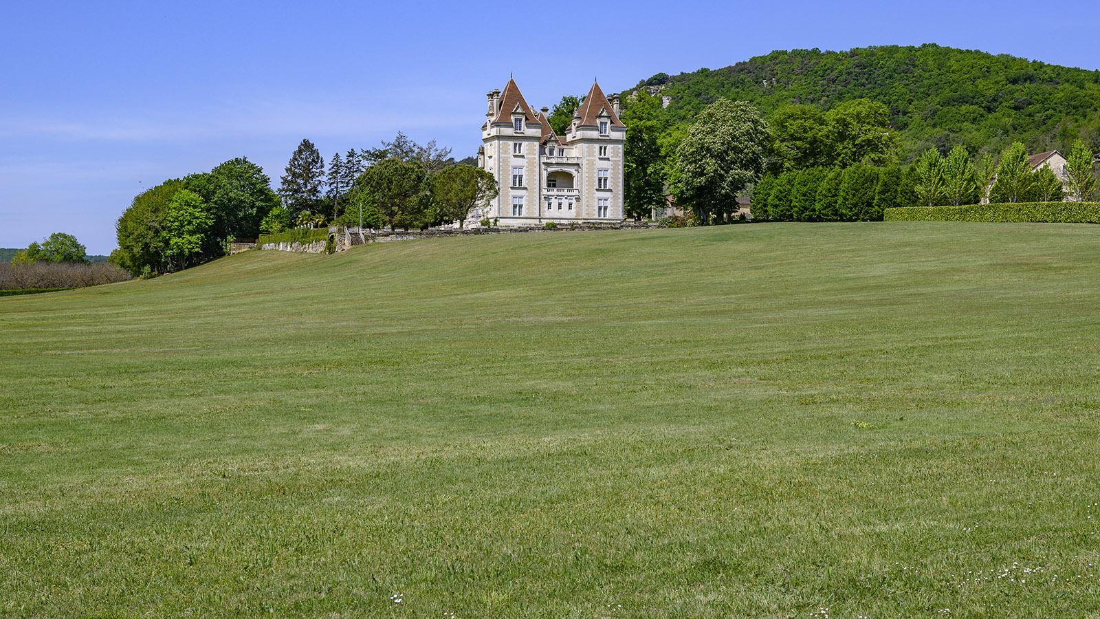Im Schlosshotel von Saint-Vincent-de-Cosse könnt ihr fürstlich logieren. Foto: Hilke Maunder