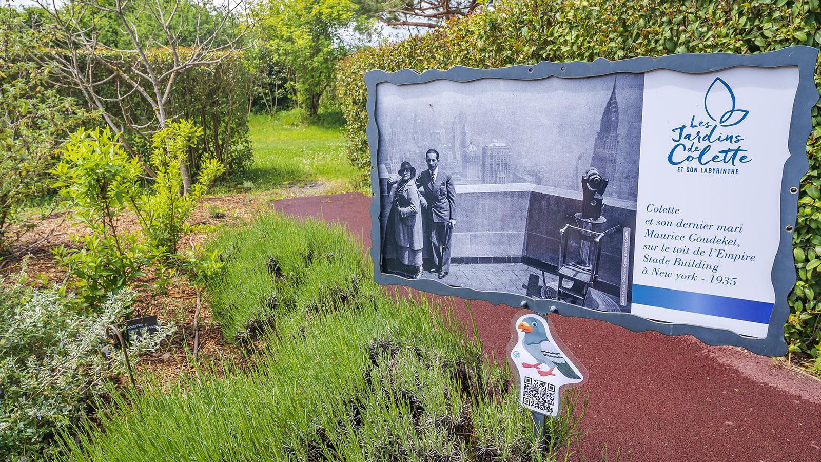 Varetz: die Gärten von Colette. Foto: Hilke Maunder