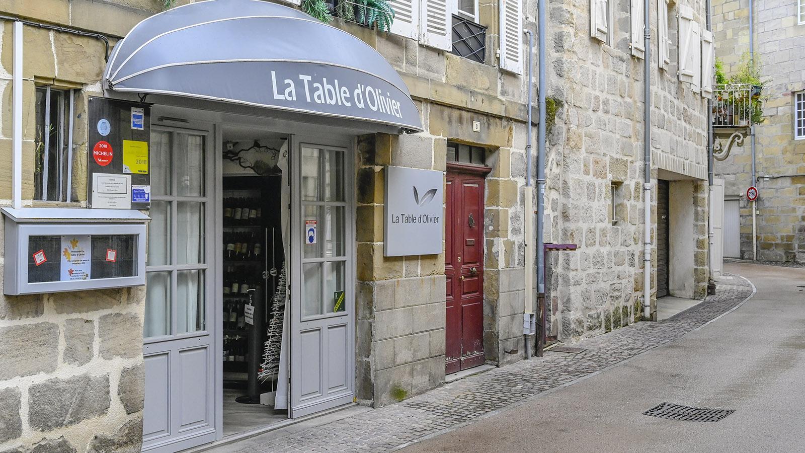 Brive-la-Gaillarde, La Table d'Olivier. Foto: Hilke Maunder