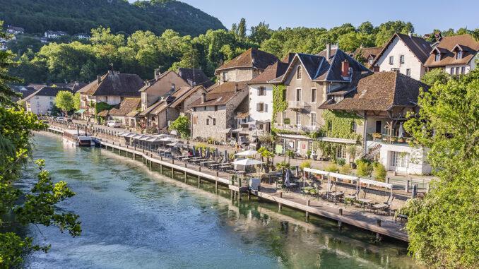 Chanaz, Savoie. Foto: Hilke Maunder