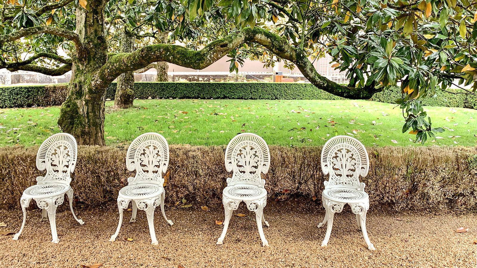 Château des Milandes, Garten. Foto: Hilke Maunder
