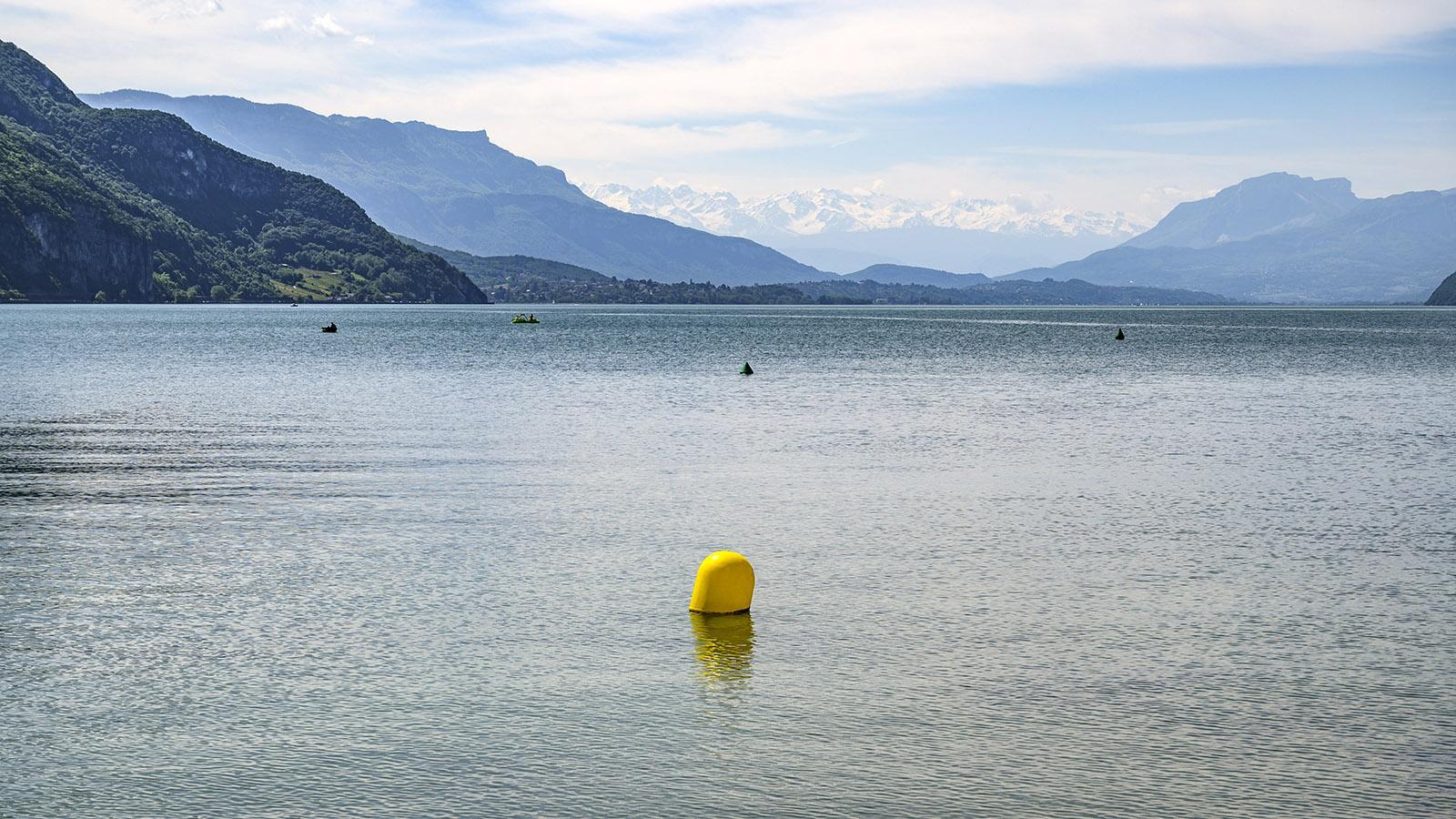 Der Lac du Bourget bei Châtillon. Foto: Hilke Maunder