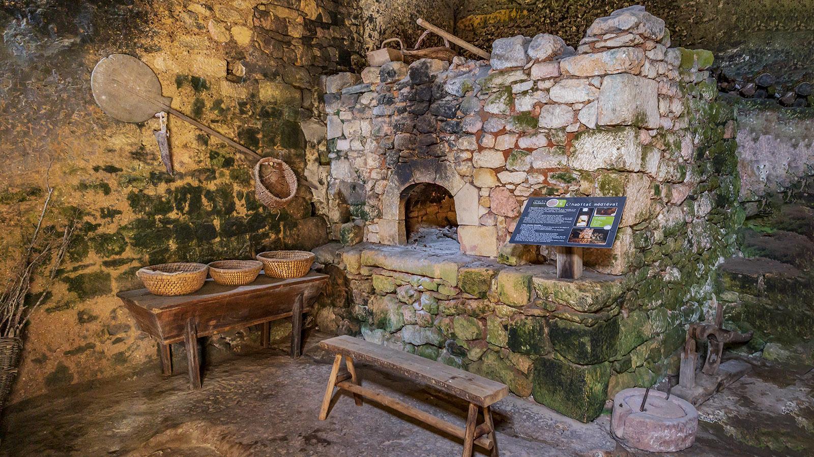 La Madeleine: Der Backofen der Dorfküche. Foto: Hilke Maunder