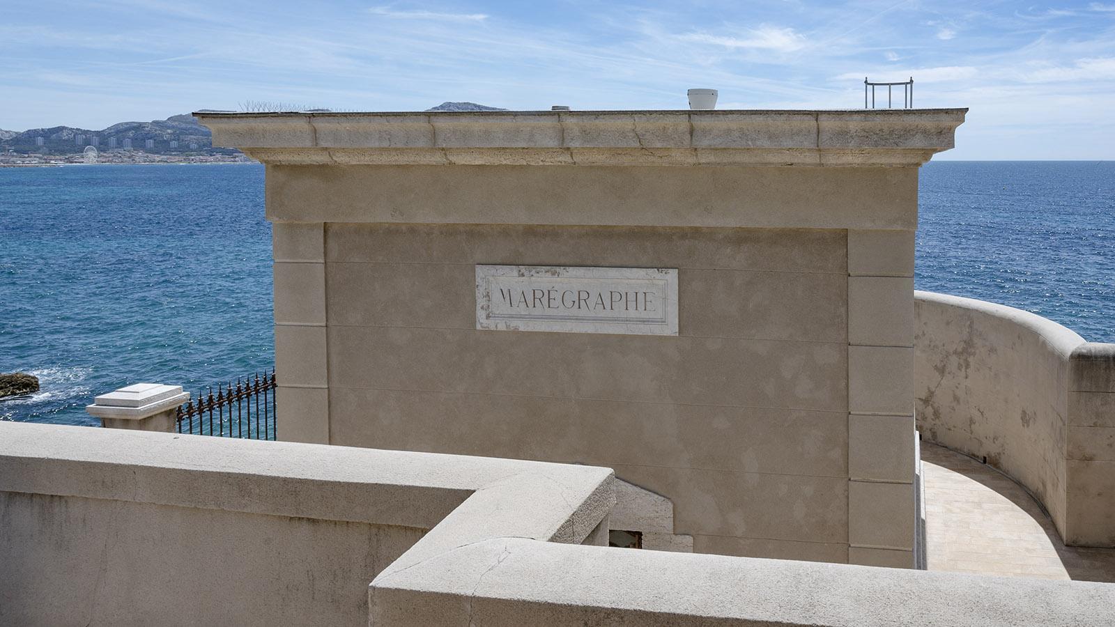 Marseille, Maregraph. Foto: Hilke Maunder