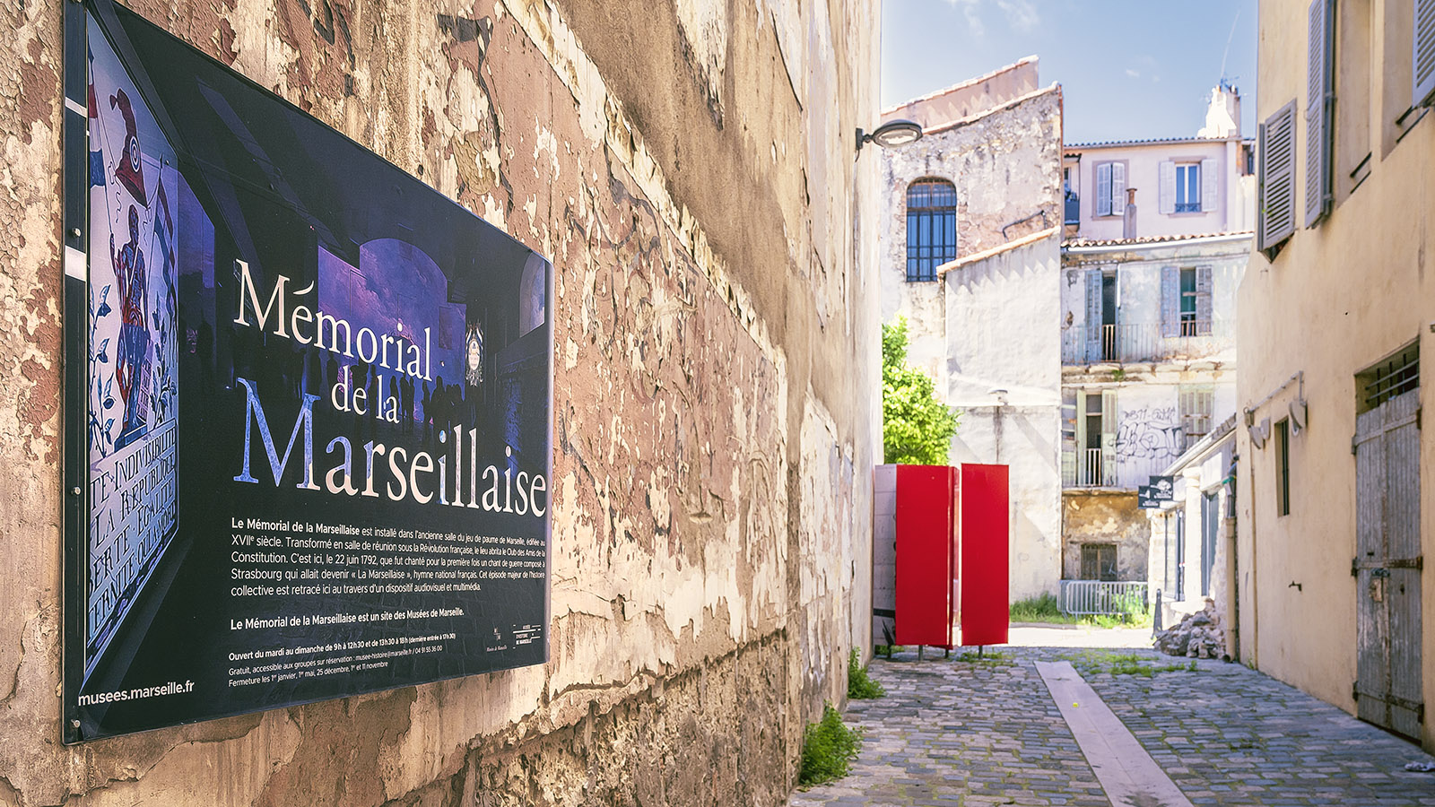 Memorial de la Marseillaise. Foto: Hilke Maunder