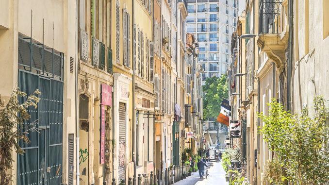 Marseille, Rue Thubaneau.