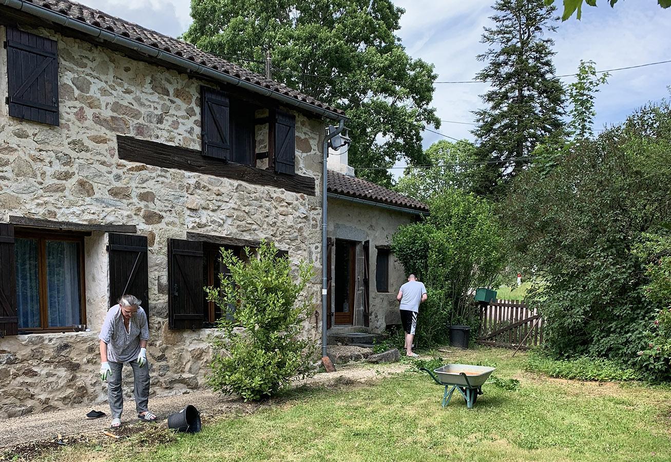 Nach langem Suchen fanden wir es: unser neues Heim im Périgord. Foto: Dana Mentzel