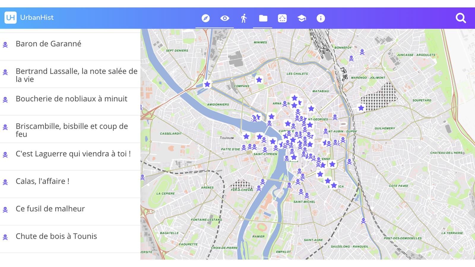 Das Portal UrbanHist von Toulouse