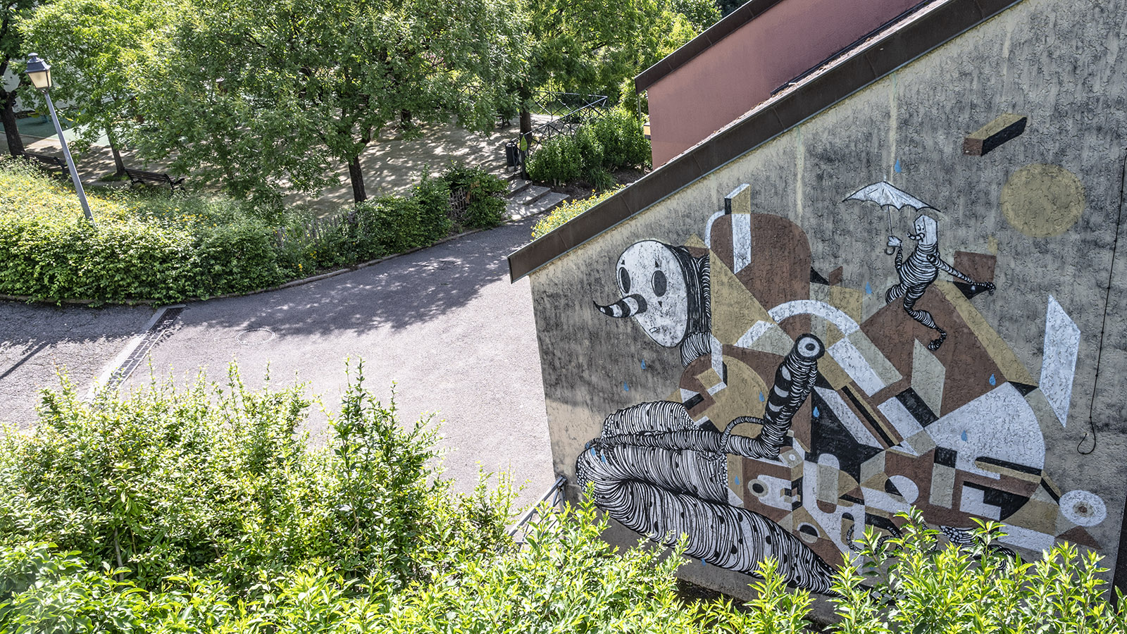 Street Art in Besançon (Battant), Foto: Hilke Maunder