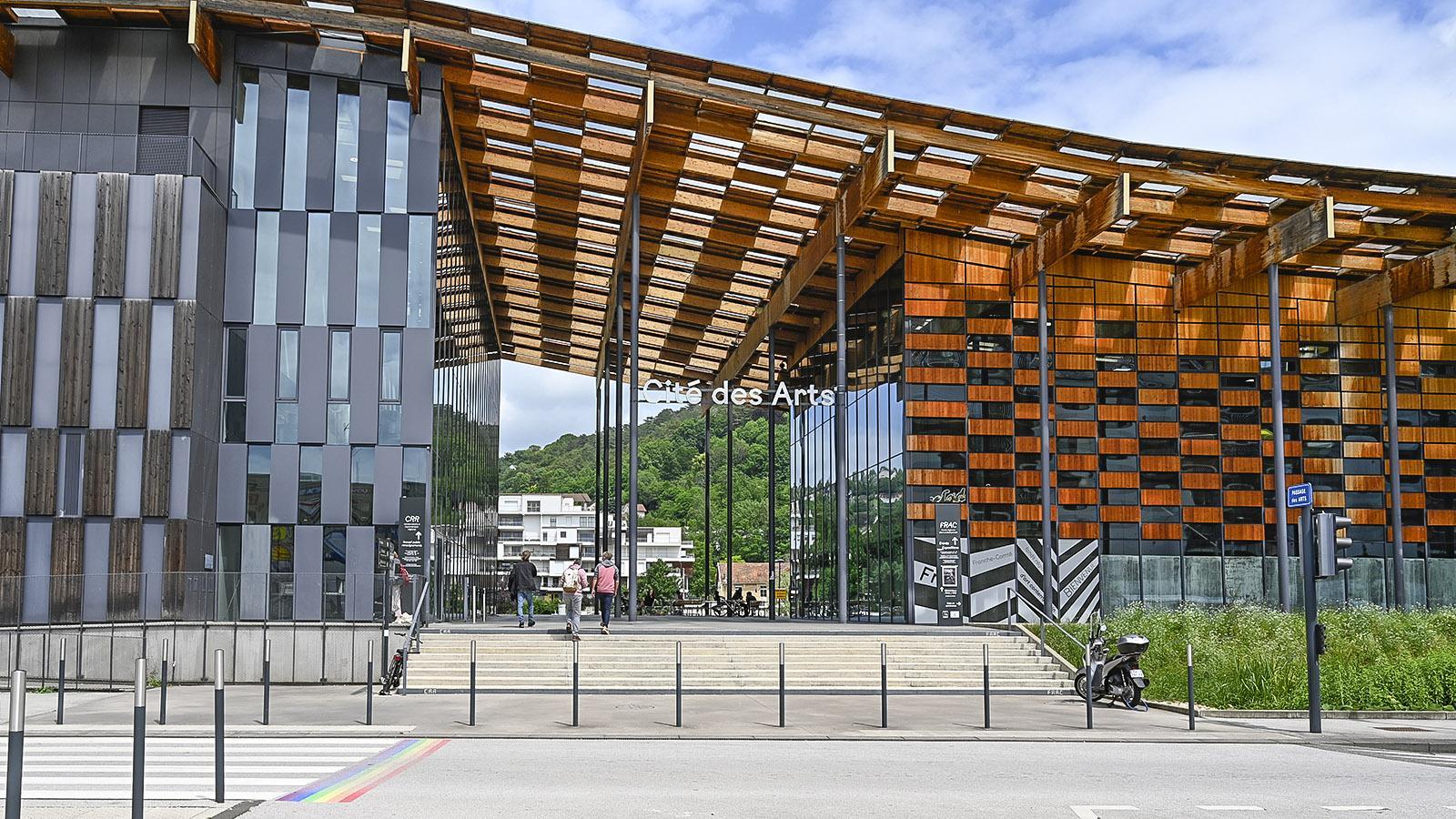 Der FRAC der Franche-Comté birgt die staatliche Kunstsammlung der Region. Foto: Hilke Maunder
