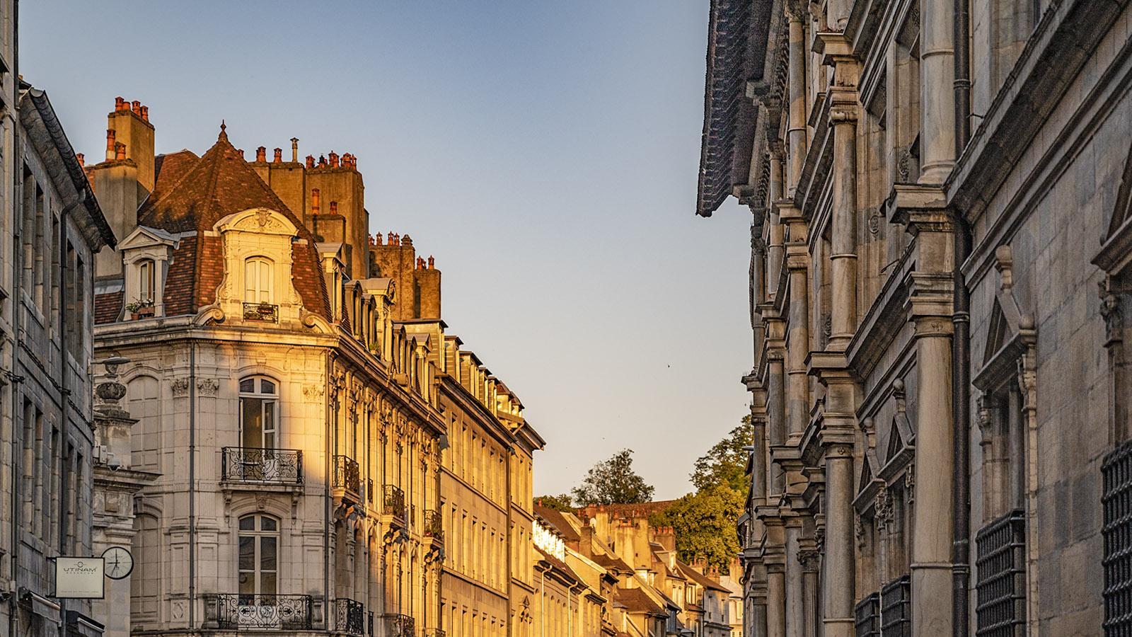 In der Altstadt von Besançon. Foto: Hilke Maunder