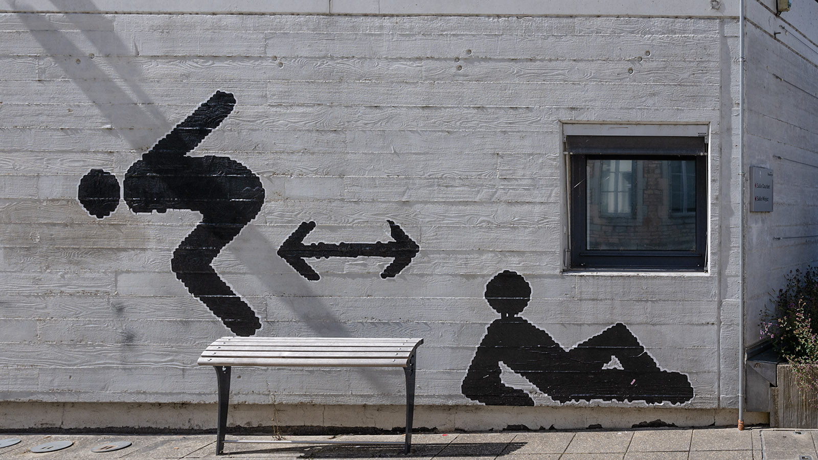 Street Art in Besançon, Foto: Hilke Maunder
