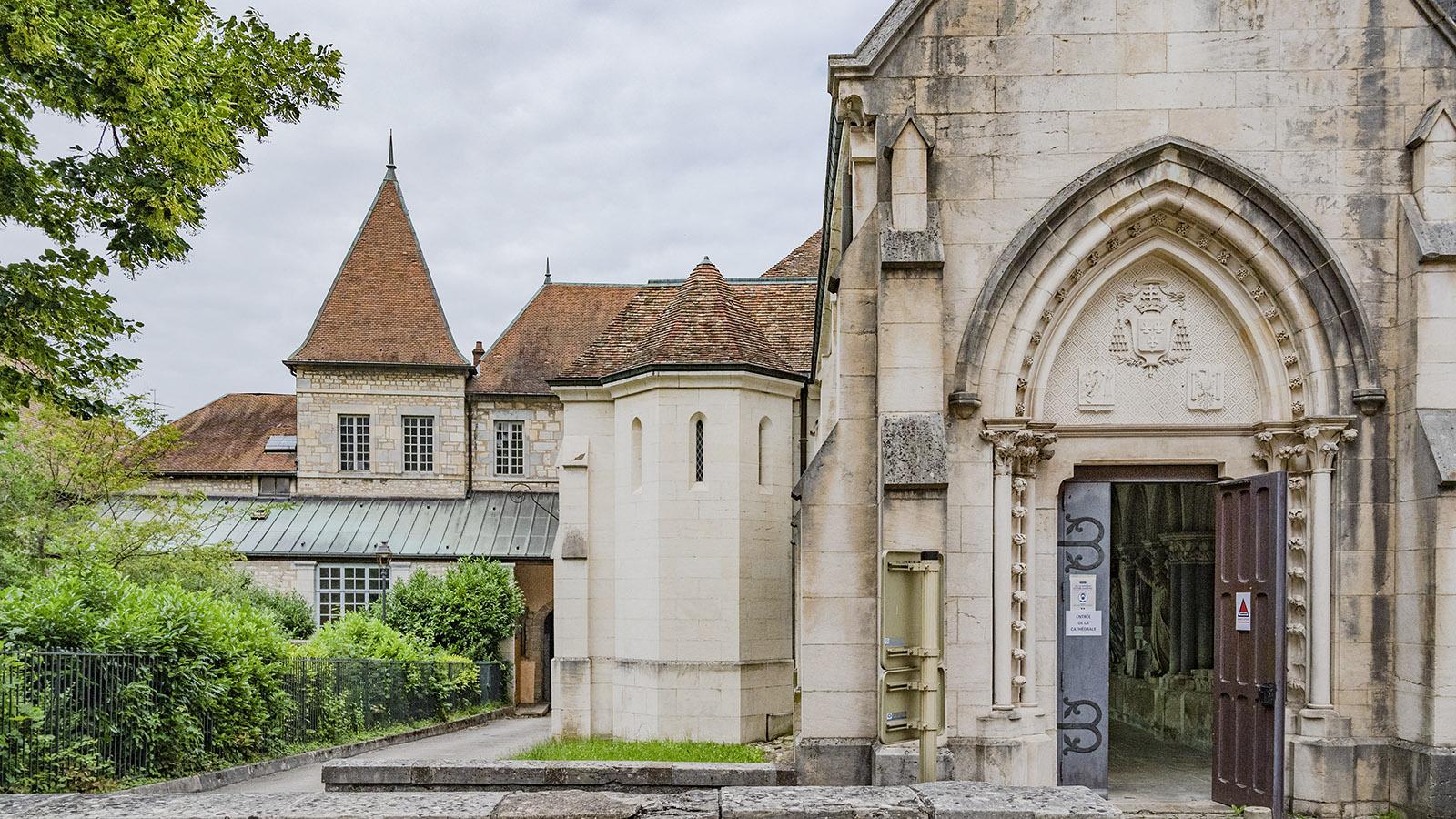 Die Kathedrale von Besançon. Foto: Hilke Maunder
