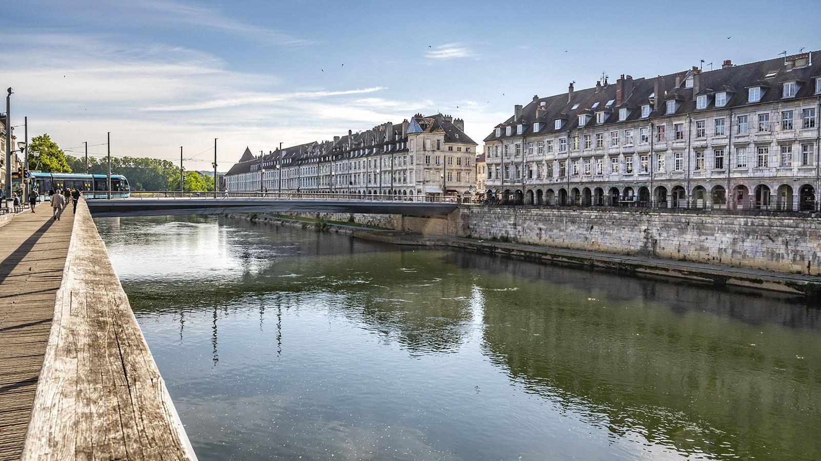 Besançon, Pont Battant. Foto: Hilke Maunder