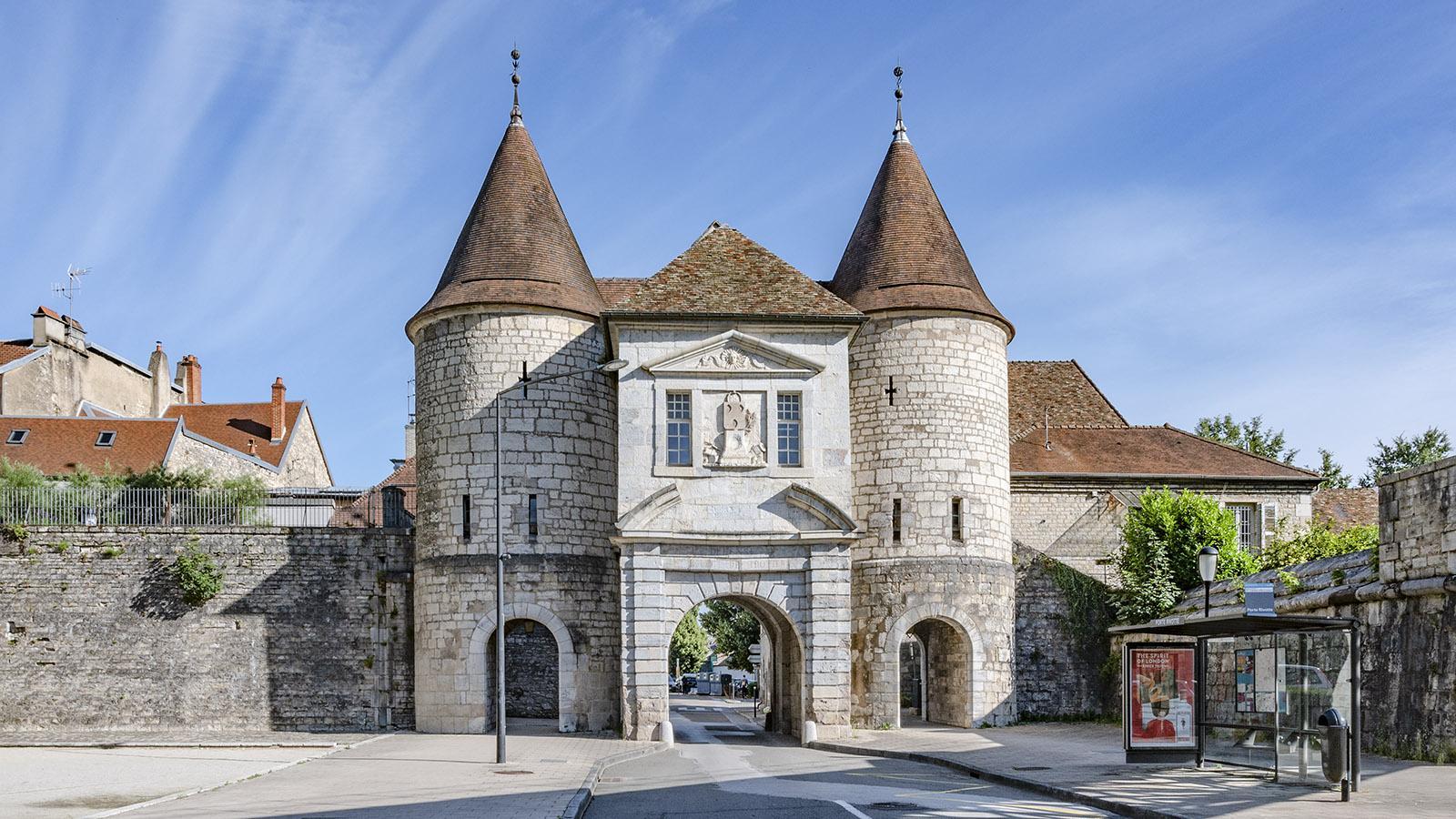 Die Porte Rivotte von Besançon. Foto: Hilke Maunder