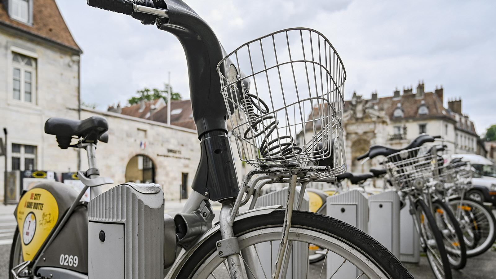 Das Stadtrad-System von Besançon. Foto: Hilke Maunder
