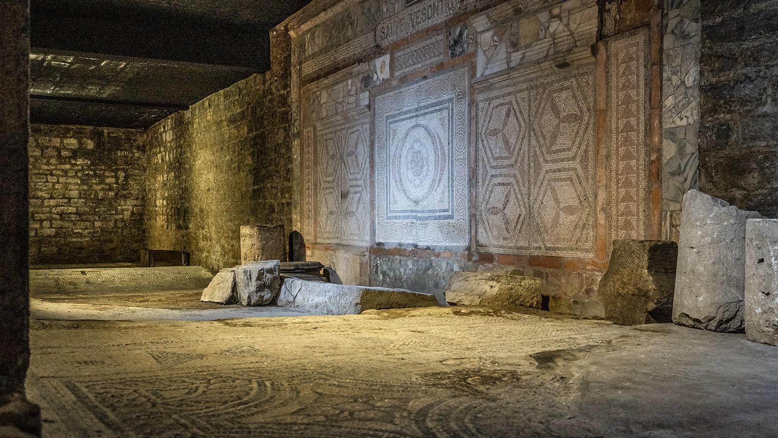 Die archäologische Sammlung der Universität Besançon. Foto: Hilke Maunder