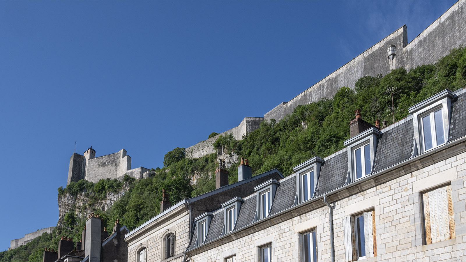 Die Zitadelle von Besançon. Foto: Hilke Maunder