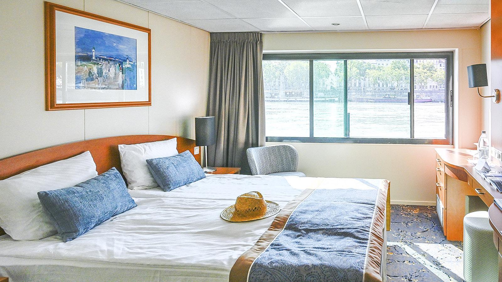 Modern, komfortabel und aussichtsreich die Kabine. Foto: Hilke Maunder